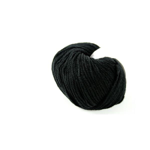 (まとめ)毛糸ままあむ#70 ブラック【×30セット】