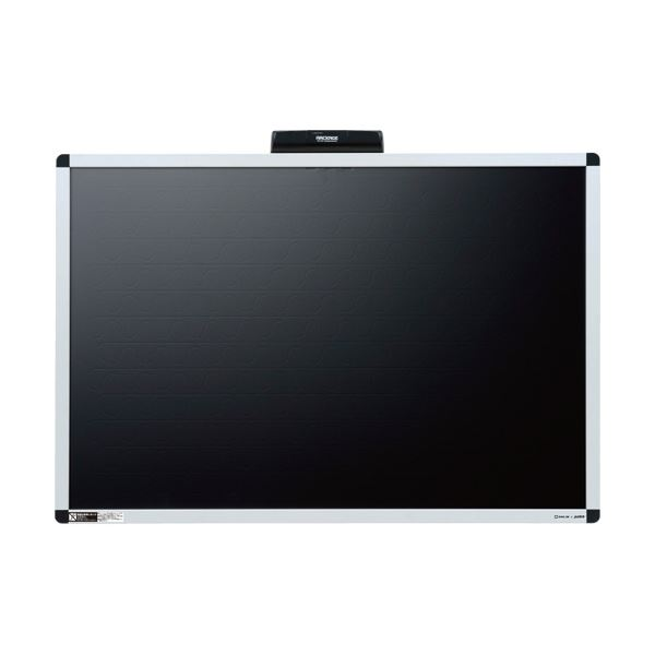 キングジム 電子吸着ボード ラッケージ壁掛けタイプ 中 黒 RK9060クロ 1枚
