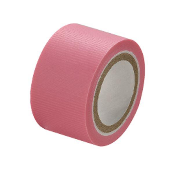 (まとめ)セキスイ スマートカットテープミニ 25mm×4.5m ピンク【×50セット】