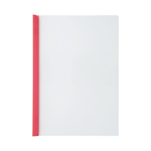 永遠の定番モデル コピー用紙約50枚収納の厚とじタイプ まとめ 価格 交渉 送料無料 リヒトラブ リクエストスライドバーファイル 厚とじタイプ A4タテ G1730-3 50枚収容 ×10セット 10冊 1パック 赤