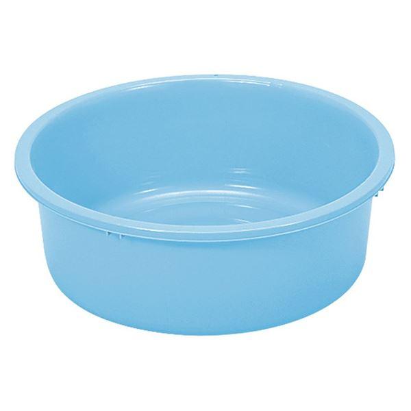 (まとめ) プラスチック製 タライ/洗い桶 【56型】 内容量:37L 〔洗濯 ペットのシャンプー 野菜の洗浄〕 【×20個セット】