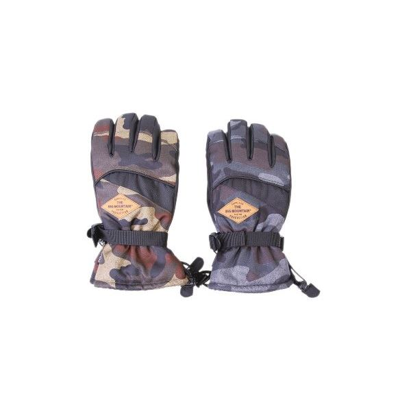 スキーレジャーグローブ メンズ 迷彩アソート L 10双セット