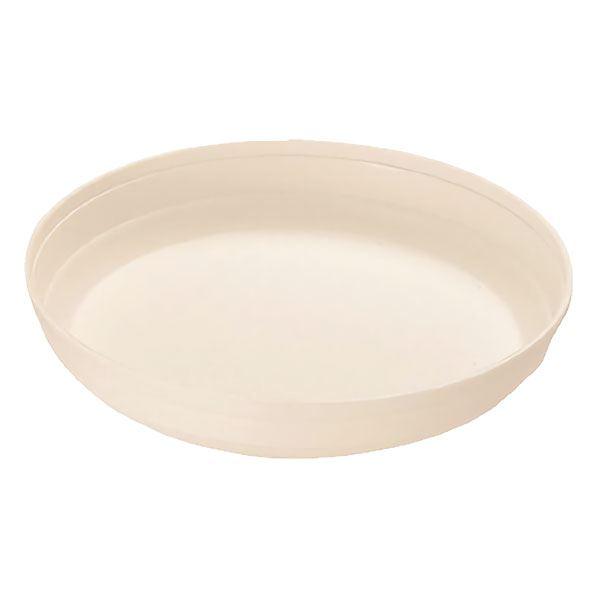 (まとめ) プラスチック製 植木鉢受け皿 【ホワイト 9号】 ガーデニング 園芸 『カラーバリエ』 【×80個セット】