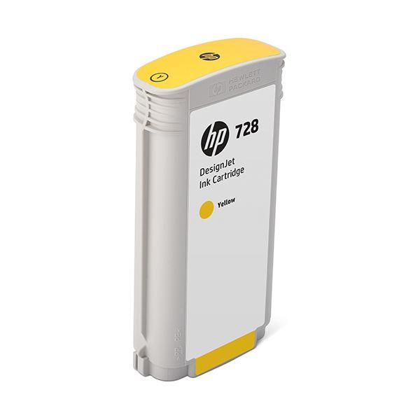HP HP728 インクカートリッジイエロー 130ml F9J65A 1個
