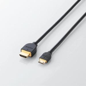 5個セット エレコム イーサネット対応HDMI-Miniケーブル(A-C) DH-HD14EM15BKX5