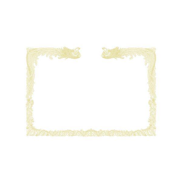 (まとめ)タカ印 賞状用紙 10-1480 A3縦WH百枚【×5セット】