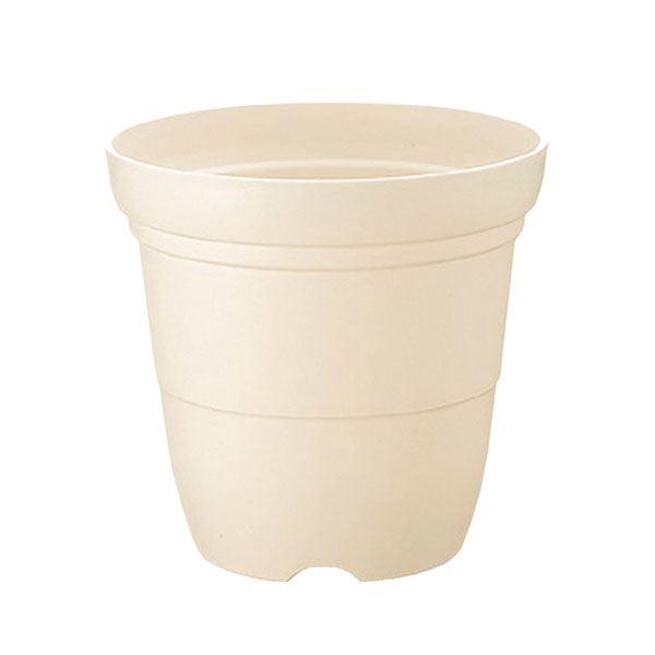 (まとめ) プラスチック製 植木鉢/ポット 【長鉢 ホワイト 5号】 ガーデニング 園芸 『カラーバリエ』 【×60個セット】
