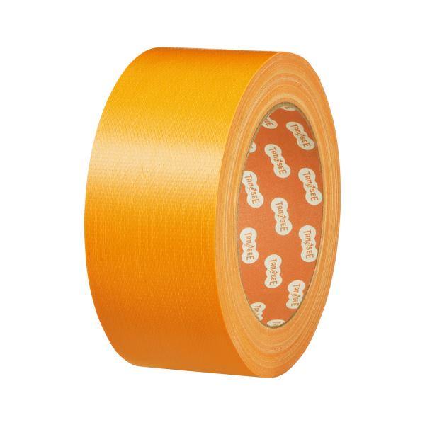 梱包作業用品 テープ製品 梱包用テープ まとめ TANOSEE オリジナル 布テープ カラー ×30セット 50mm×25m 1巻 ◆在庫限り◆ 黄