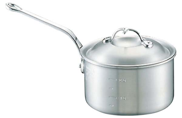 新規購入 アルミ ニューキング 深型 片手鍋 (目盛付) 24cm(), 静岡うまいもの 9015db62