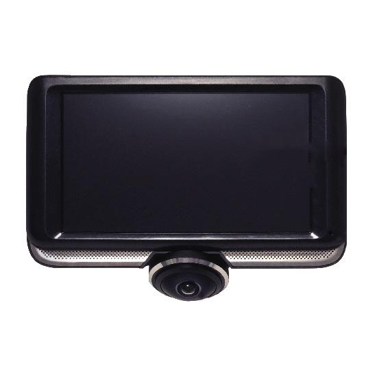 リアカメラ(100万画素)付き 360°カメラ搭載 4.5インチドライブレコーダー MW-DR360R1 ドラレコ タッチパネル ハイビジョン撮影【送料無料】