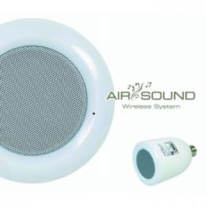 AIR SOUND  LEDライトスピーカー 1個(増設用)【送料無料】