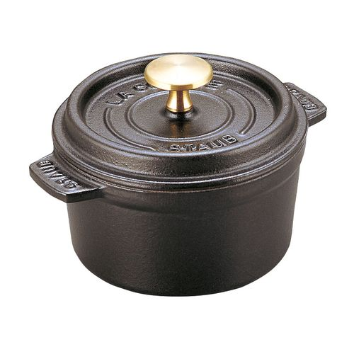 ストウブ ピコ・ココット ラウンド 12cm 黒40509-471 RST3402