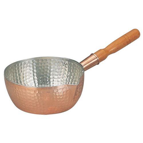 丸新銅器 銅製雪平鍋 24cm AYK07024