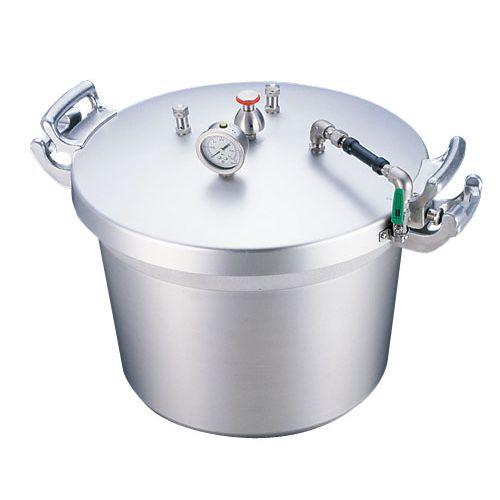 遠藤商事 SAアルミ業務用圧力鍋(第2安全装置付) 50l AAT15050