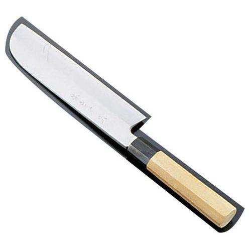 堺孝行 シェフ和包丁 銀三鋼 鎌型薄刃 24cm ASE05057