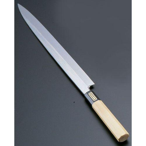 遠藤商事 SA佐文 本焼鏡面仕上 柳刃 木製サヤ 33cm ASB51033