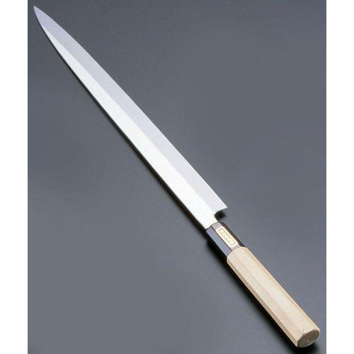遠藤商事 SA佐文 本焼鏡面仕上 ふぐ引 木製サヤ 33cm ASB53033