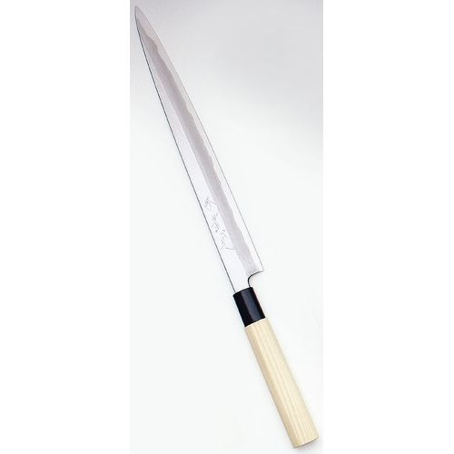 堺寛光 特製霞 ふぐ引(片刃) 24cm 34408 AZT6001