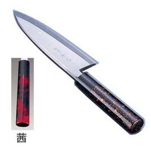 インテックカネキ 歌舞伎調和包丁 忠舟 出刃 19.5cm 茜 ATD0212