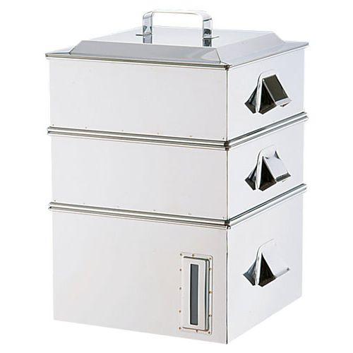 遠藤商事 SA電磁専用業務用角蒸器 2段 36cm AMSA0036