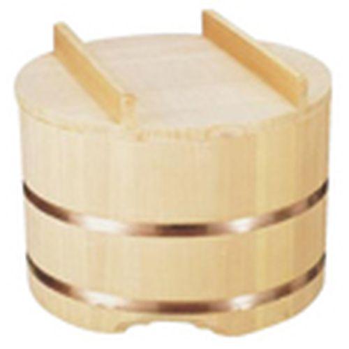 雅うるし工芸 のせ蓋おひつ (3升用) 36cm DOH05036