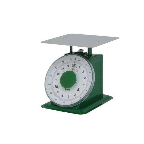 ヤマト 上皿自動はかり「大型」 平皿付 SD-15 15kg BHK6715