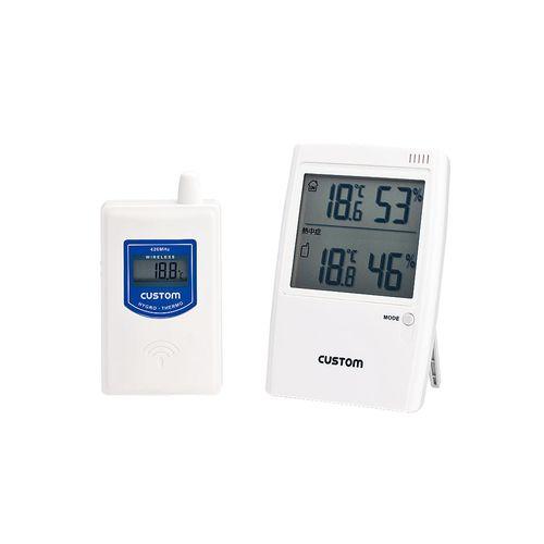 カスタム 無線温湿度モニター HI-01RF (熱中症警告インジケータ付) BOVO101