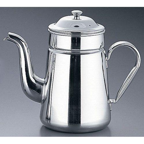 遠藤商事 SA18-8コーヒーポット #13(電磁調理器用) FKC05001