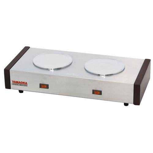 山岡金属 卓上用電気コーヒーウォーマー S-552PT(2連) FSI15