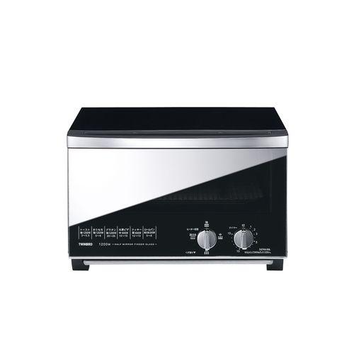 ツインバード ミラーガラス オーブントースター TS-D047B GTC1001