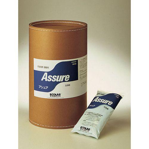 セットアップ 送料無料 エコラボ 粉末前浸漬洗浄剤 賜物 アシュア ファイバードラム入 20Kg TSV032