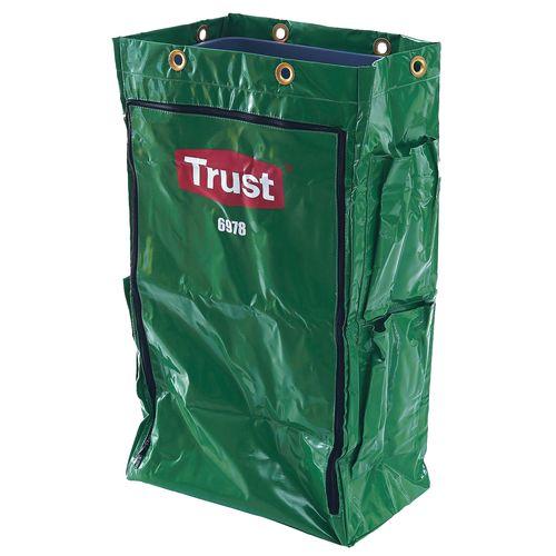 Trust(トラスト) クリーニングカート用 ポリライナー6978 グリーン KTLJ103