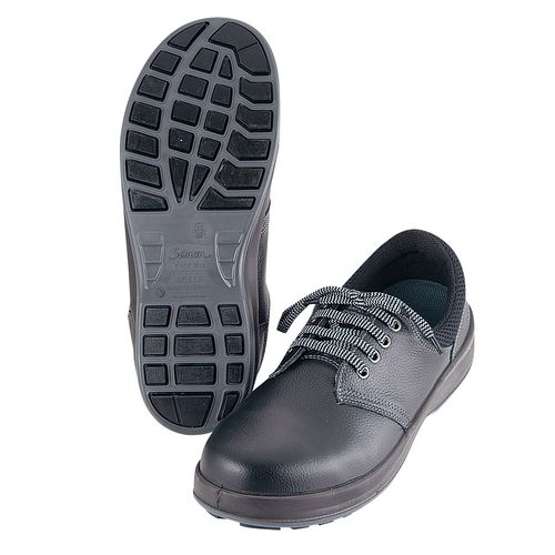 シモン シモン 耐滑安全靴 ウォーキングセフティ SX3層WS-11 23.5cm SKT6901