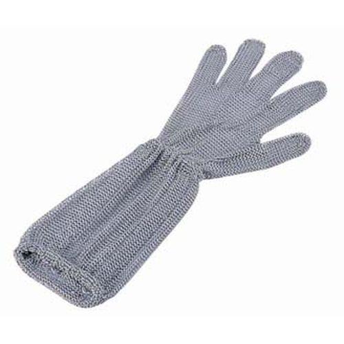 ニロフレックス ロングカフ付 メッシュ手袋5本指 M LC-M5-MBO(2) STB7002