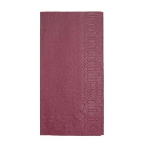 HARADA カラーナプキン 8ッ折(2,000枚入) 45cm 2P ボルドー PNP0505