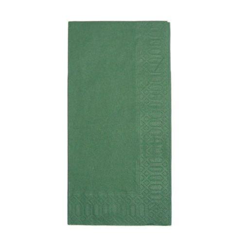 HARADA カラーナプキン 8ッ折(2,000枚入) 45cm 2Pフォレストグリーン PNP0506
