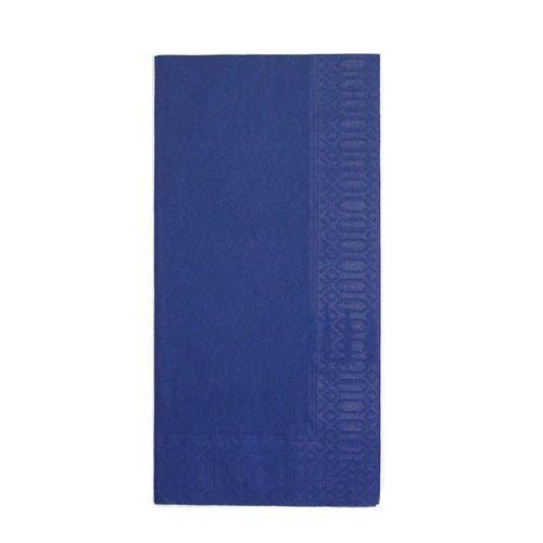 HARADA カラーナプキン 8ッ折(2,000枚入) 45cm 2P ディープブルー PNP0507