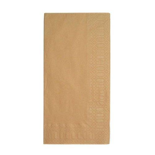 HARADA カラーナプキン 8ッ折(2,000枚入) 45cm 2P ブラウン PNP0509