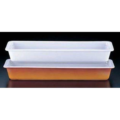 ロイヤル 陶器製 角ガストロノームパン PB625-24 2/4 ホワイト NGS0701
