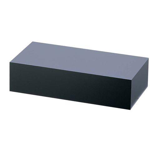 エムズジャパン アクリル ディスプレイBOX 中 黒マット B30-9 NDI0702