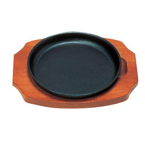 三和精機 (S)ステーキ皿 丸型 B 17cm PSV16017