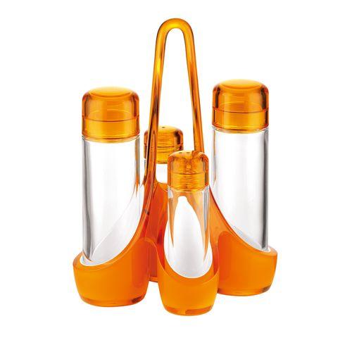 グッチーニ オイル&ビネガーカスターセット 2488.0045 オレンジ RGTT705