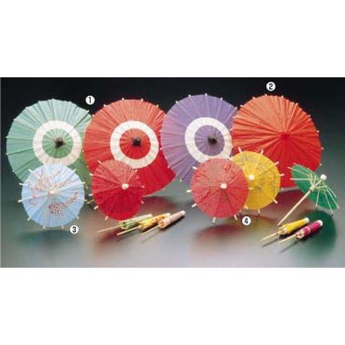 ヤマコー 蛇ノ目傘 B(100入) 中 紫 QZY01003