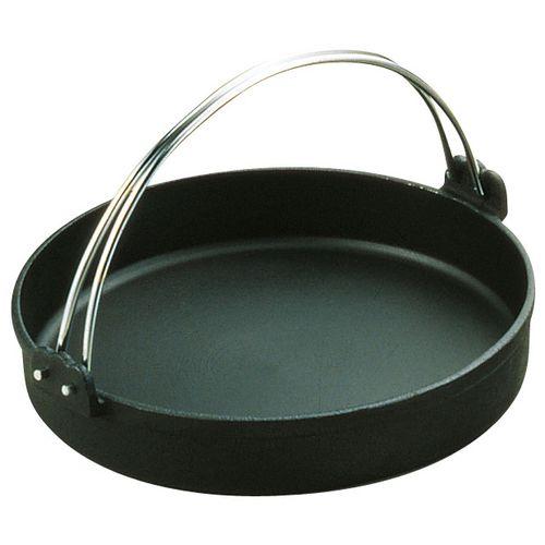 トキワ 鉄すきやき鍋 黒ツル付 30cm QSK35030