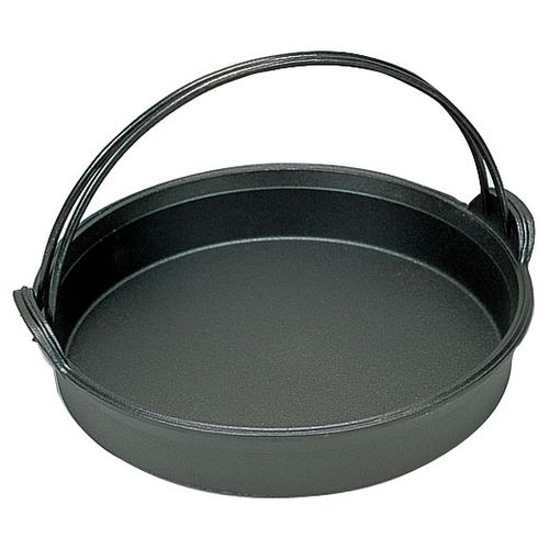 五進 鉄すきやき鍋 石目 27cm QSK75027