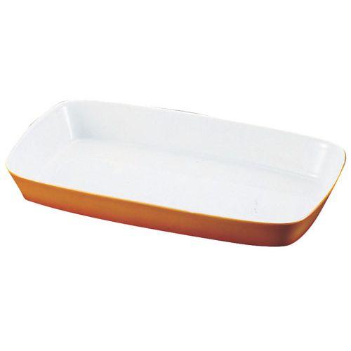 シェーンバルド 角グラタン皿 茶 1011-39B RKK56039