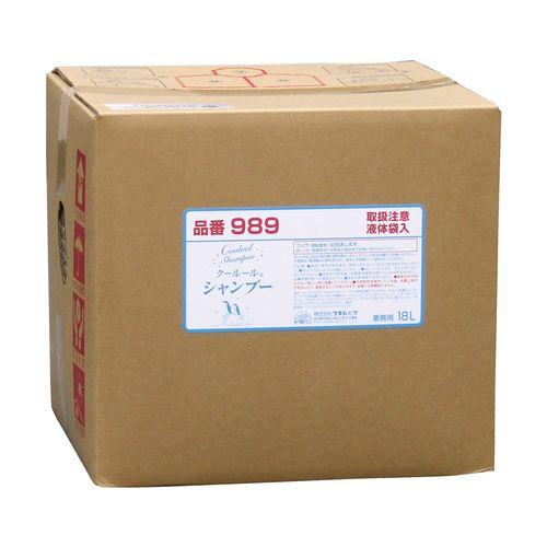 フタバ化学 業務用 クールール シャンプー 18L ZSY7201