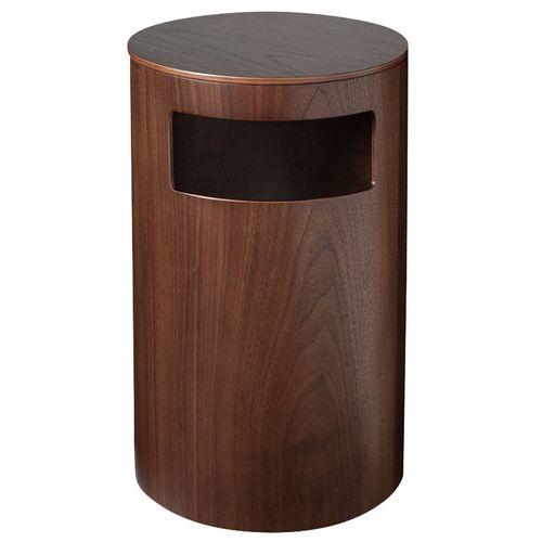 サイトーウッド 木製 テーブル&ダストボックス 990WN ウォールナット WGM2601 【S1】