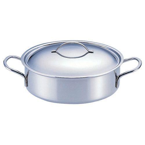 deBUYER(デバイヤー) 18-10プライオリティ 外輪鍋(蓋付) 3693-24 ASTE61