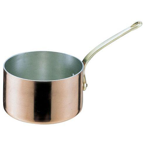 遠藤商事 SAエトール銅 片手深型鍋 15cm AKT06015